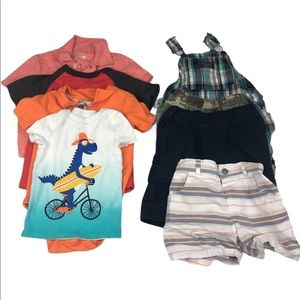 Baby Boy Summer Lot 24 Months 2T  Shorts Shirts